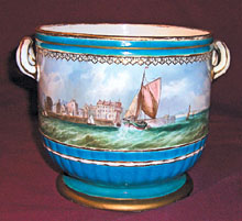 Hand-Painted Scenic Meissen Porcelain