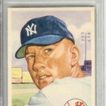 Marshall Fogel is an expert on collecting baseball memorabilia, like the Mickey Mantle card shown.