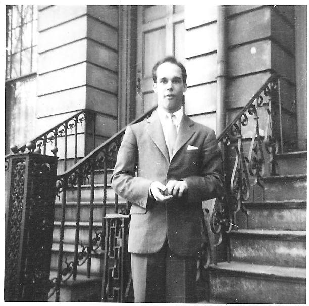 Crosby Forbes, circa, 1945, in Cambridge.