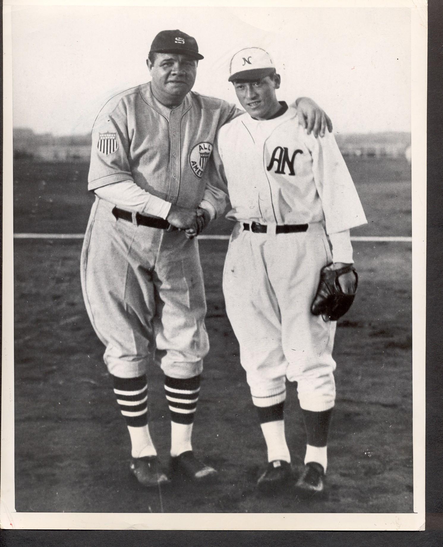 pretty nice 12379 11e92 Ken's Korner: Babe Ruth's '34 'Tour of Japan' uniform ...