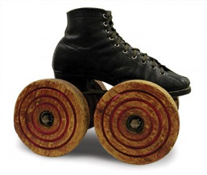 "Roller Skates were the ""Big Wheel"" of yesterday."