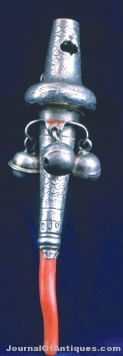 Coral and Silver Rattle, 1825