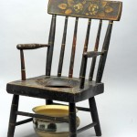 Child's Commode Chair, 1820-40. New England