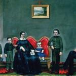Portrait of the Deacon Wilson Brainerd Family, 1858