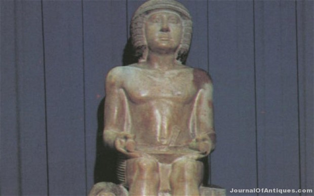 Egyptian statue is assessed at $3 million