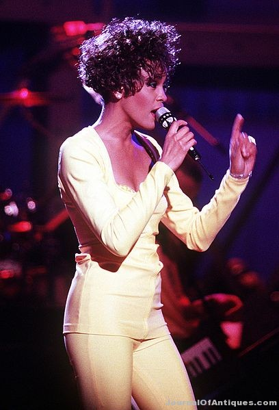 Whitney Houston exhibit in Vegas