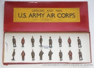 Britains Air Corps set, $5,860, Old Toy Soldiers