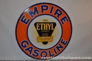 Empire Gasoline sign - $10,450 - Matthews