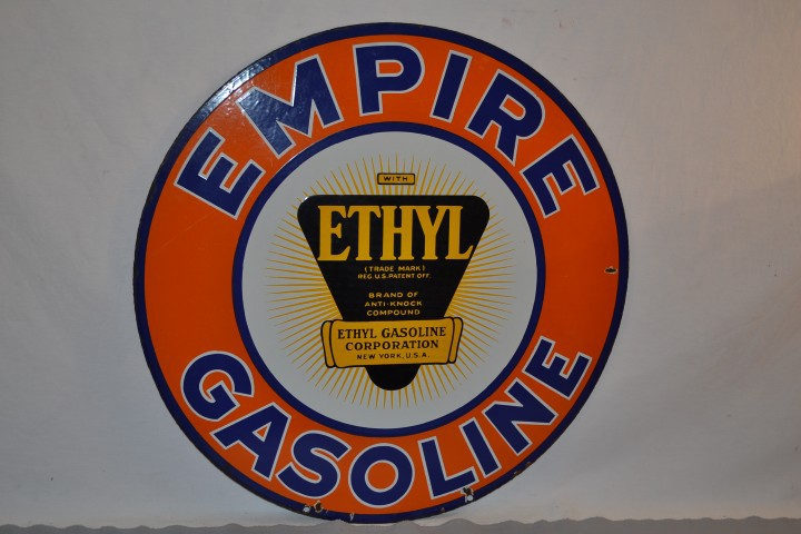 Empire Gasoline sign - $10,450 - Matthews
