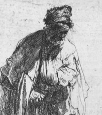 Rembrandt etching gets lost in the mail