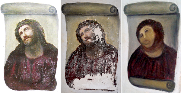 Worst art restoration in history? You decide.