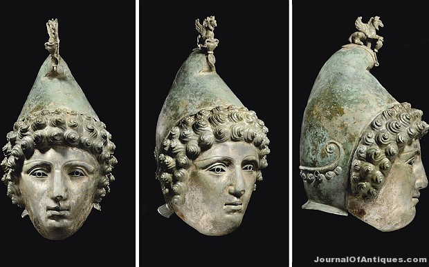 Ken's Korner: Roman cavalry helmet on display in England