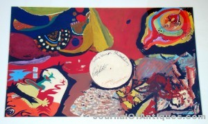 Beatles 1966 painting, $155,250, Philip Weiss