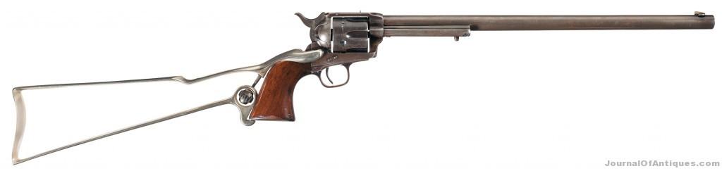 Colt 'Buntline Special,' $546,250, Rock Island