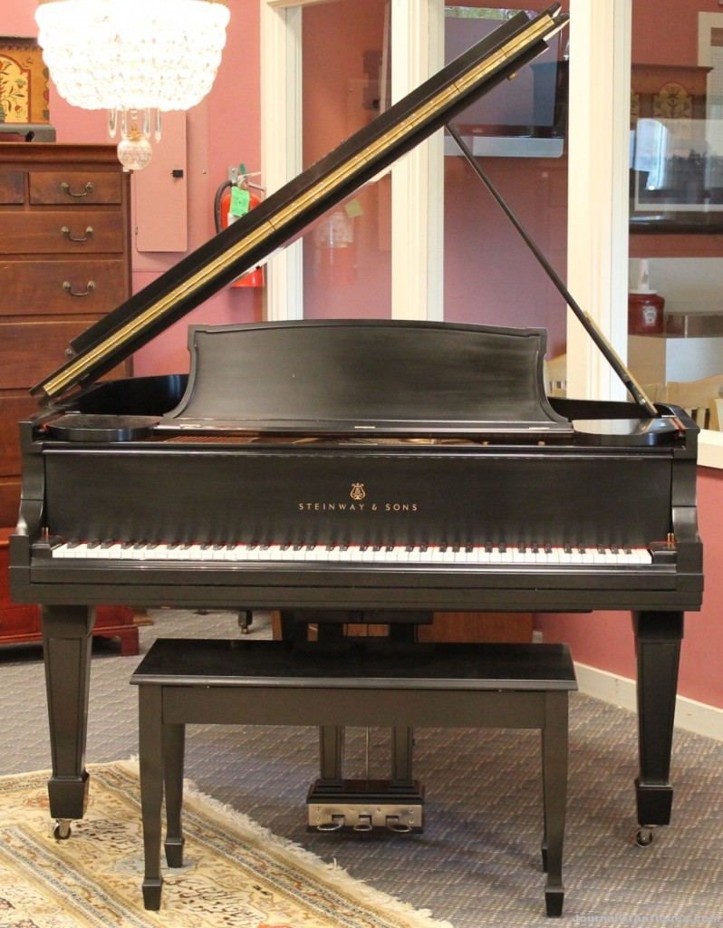 Steinway grand piano, $24,000, Alderfer Auction