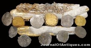 Sunken gold treasure, $172,500, James D. Julia