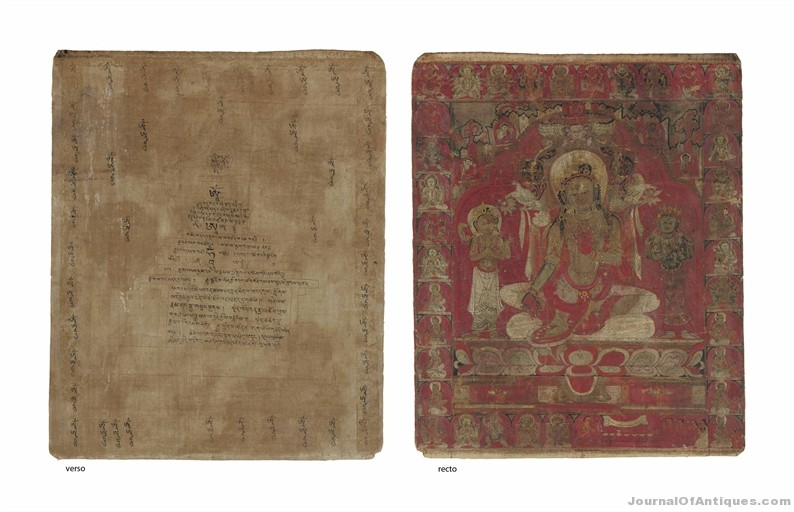 Thangka of Green Tara, $1.76 million, Christie's