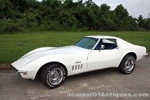 1969 Chevrolet Corvette, $164,160, Vicari Auction