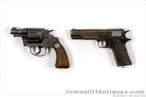 Gangster guns bring big dollars at auction.