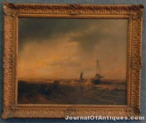Herman Herzog painting, $19,550, Carlsen Gallery