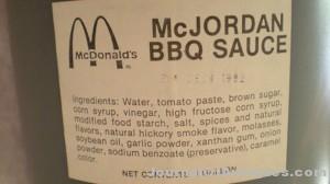 Ken's Korner: McJordan BBQ sauce sells on eBay for $10K