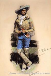 Remington pastel work, $690,000; Jackson Hole