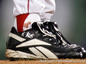 Schilling may have to sell bloody sock