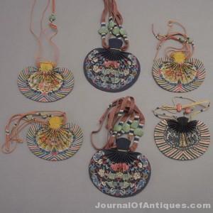 Six Chinese hebao, $11,700, Michaan's