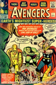 Avengers #1 is valued at being one of the top five most desired of comic books from the Silver Age, including also Amazing Fatasy #15, Fantastic Four #1, Incredible Hulk #1, and Journey into Mystery #83