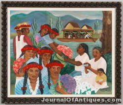 Diego Rivera work, $9,700, Kaminski