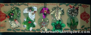 Gift package tye-ons where sold in the 5 and dime and not only glamorized packages but were used to make corsages. $15.00