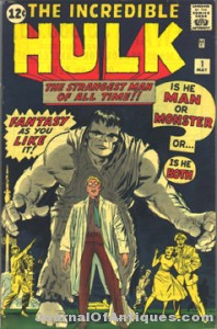 The Incredible Hulk #1 has sold for a record price of $120,000.