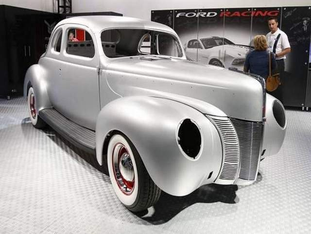 Ken's Korner: Replica of '40 Ford coupe body for sale - The