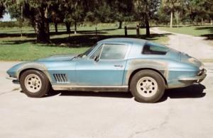 Ken's Korner: Armstrong's Corvette is getting a restoration