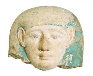 Carved limestone fragment, $57,500, Leslie Hindman