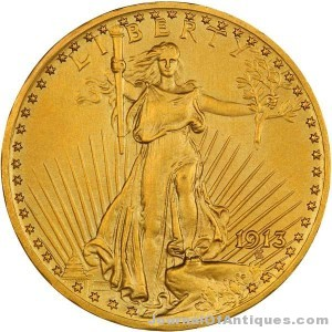 1913 $20 proof gold coin, $109,250, Legend-Morphy
