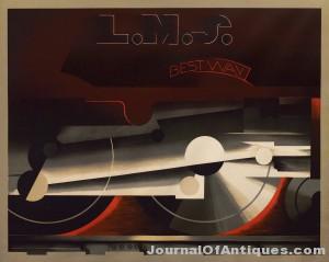 A.M. Cassandre poster, $156,000, Swann Auction