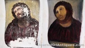 Ken's Korner: Botched restoration lady sells art on eBay