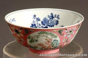 Chinese porcelain bowl, $29,500, Weschler's
