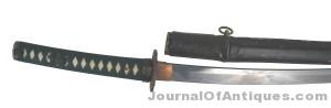 Japanese Samurai sword, $7,538, Mohawk Arms, Inc.