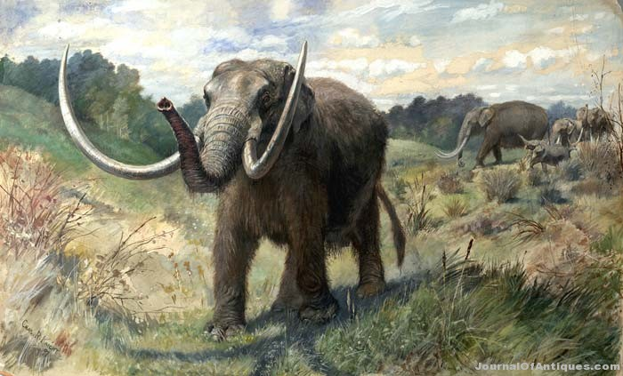 Ken's Korner: Mammoth, mastodon finds in France, U.S.