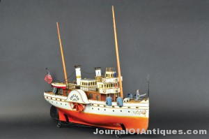 Marklin Paddle Wheeler, $264,500, Bertoia Auction