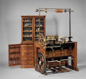 Rare rose engine lathe, $228,000, Skinner, Inc.