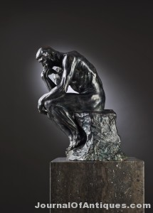 Small version, The Thinker, $2.2 million, Bukowskis