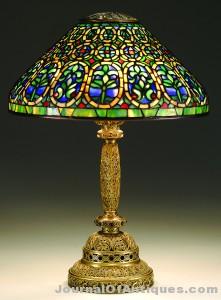 Tiffany Venetian lamp, $103,500, James D. Julia
