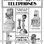Viaduct Telephone ad 1902