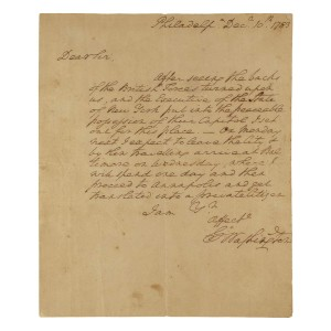 George Washington Letter 362 500 Doyle New York The Journal Of Antiques And Collectibles