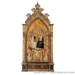 14th century painting, $50,000, Doyle N.Y.