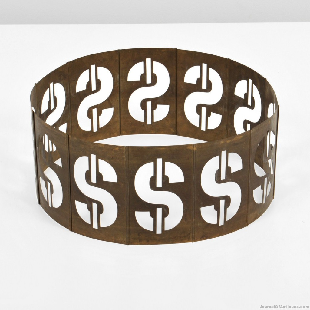 1981 Andy Warhol sculpture, $52,000, Palm Beach Modern
