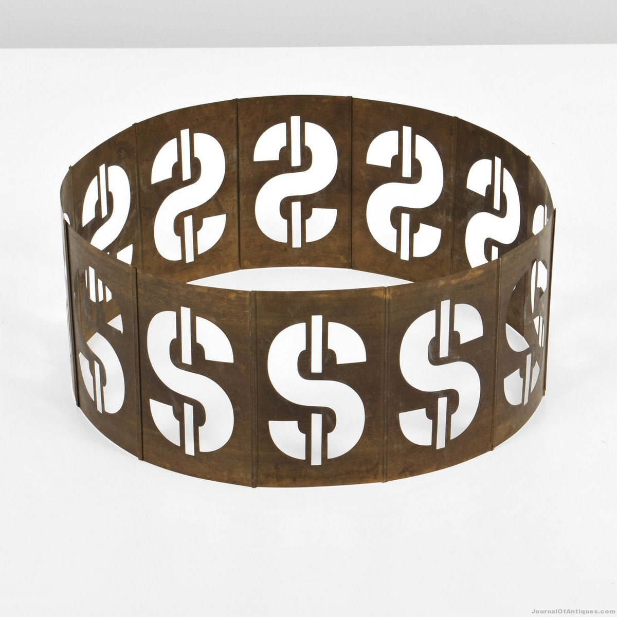 1981 Andy Warhol sculpture, $52,000, Palm Beach Modern